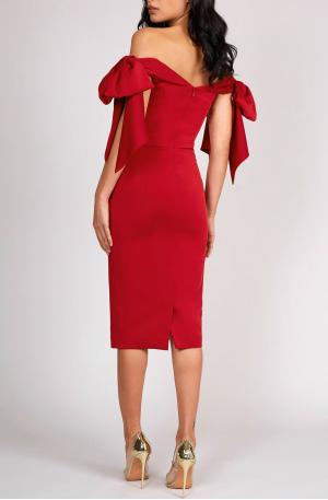 Victoria Dress – Red