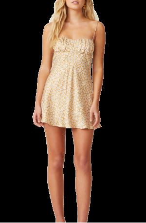 Zoe Mini Pleat Silk Dress