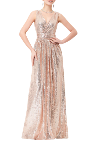 Zsa Zsa Sequin Gown