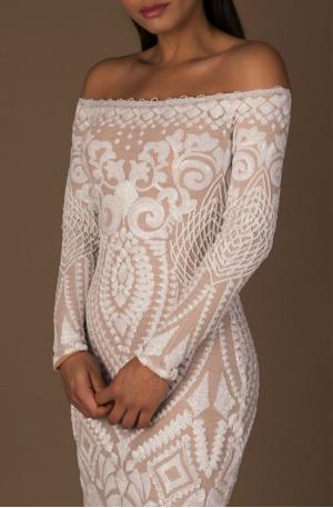 Arabella Gown - White