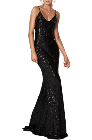 Broadway Maxi Dress – Black