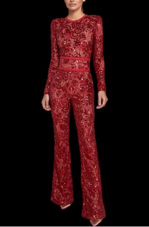 Bella Jumpsuit - Red