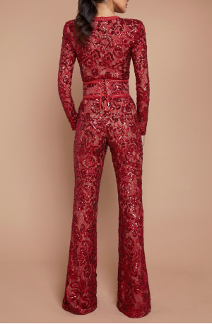 Bella Jumpsuit - Red