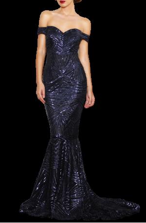 Blake Dress – Navy
