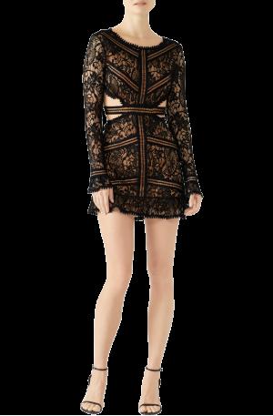 Emerie Cut Out Dress – Black