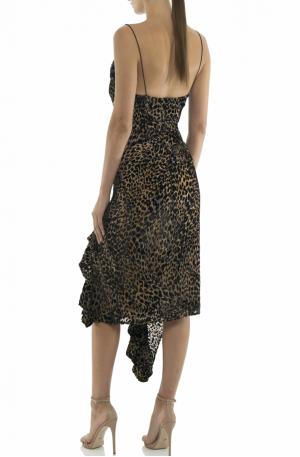 Emilia Leopard Slip Dress