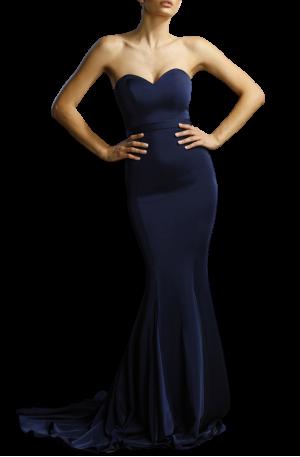 Fiona Dress – Navy