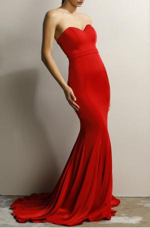 Fiona Dress – Red