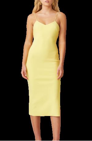 Jen Midi Dress – Banana
