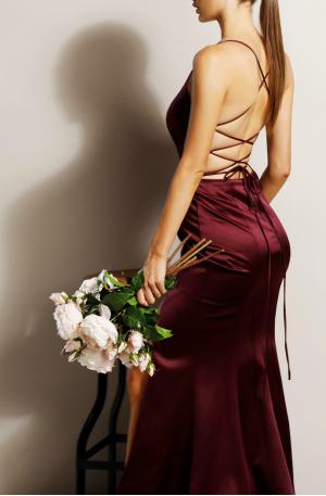 Georgia Gown – Berry