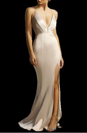 Georgia Gown – Nude