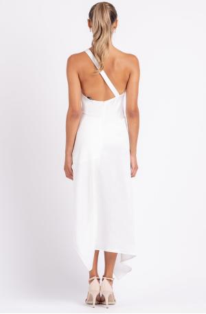 Harlequin Dress – Ivory