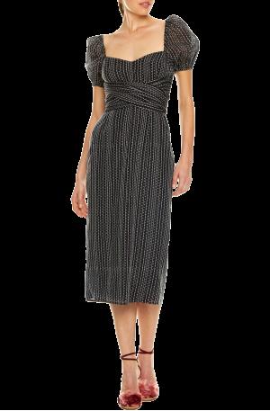 Honeycomb Midi Dress