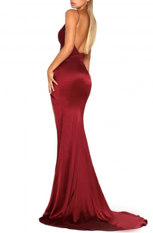 Hugo Gown – Deep Red