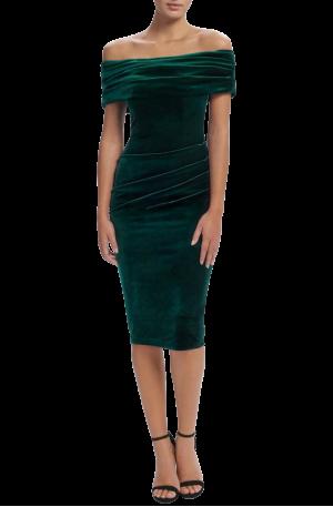 Jennie Dress – Emerald