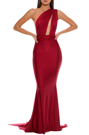 Lilianna Gown – Deep Red
