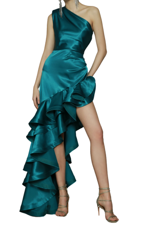 Monica Gown – Turquoise