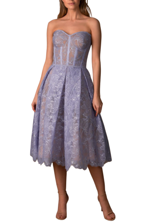 Olivia Dress - Blue