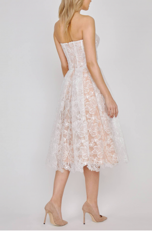 Olivia Dress - White