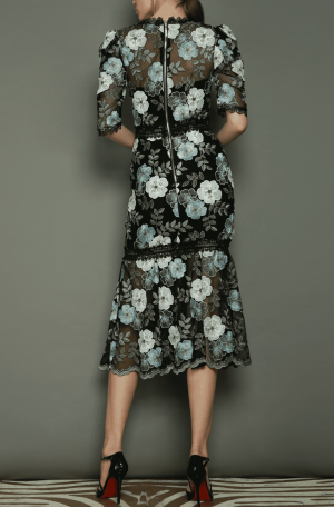 Palette Midi Dress