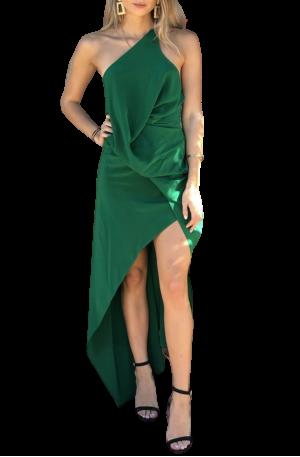 Philly Dress – Fern Silk
