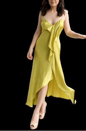 Picasso Maxi Dress – Citron