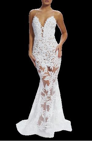 Stella Gown – White