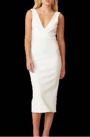 Sunny Midi Dress – Ivory