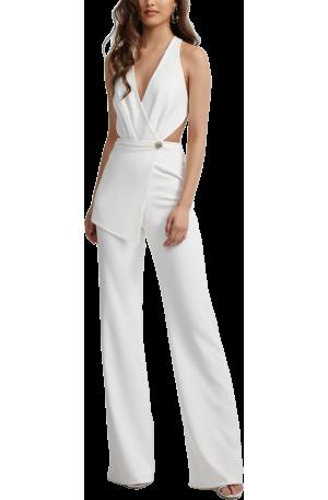 Fernanda Jumpsuit - White