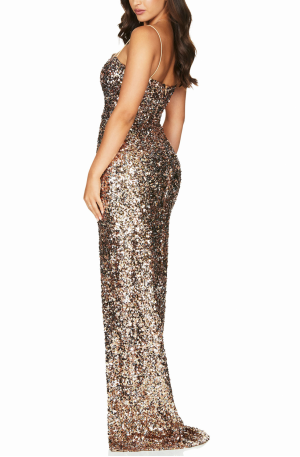 Confetti Gown – Rose Gold