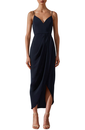 Core Cocktail Dress – Navy