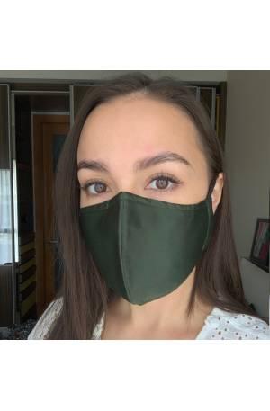 UNISEX Ollie Mask - Army Green (adjustable)