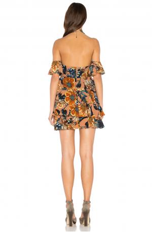 Flamenco Strapless Dress