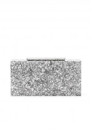 Perplex Hardcase Clutch – Silver